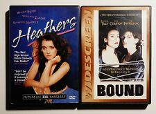 Heathers (1988) + Bound (1996) - DVD Lot of 2 w/ Inserts Set Anchor Bay