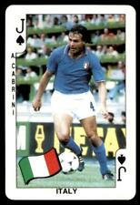 Dandy Gum World Cup 1986 - Jack of Spades A.Cabrini (Italy)