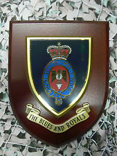 Regimental Plaque / Shield - Blues And Royals