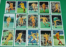 FKS AGEDUCATIFS PANINI FOOTBALL ENGLAND 1969-1970 WOLVERHAMPTON WOLVES COMPLETE