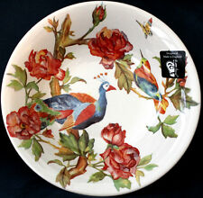 """~ Peacock Rose Andrew Tanner Royal Stafford  Serving Bowl 10+"""" round"""
