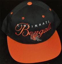 Cincinnati Bengals Vintage 90s Snapback hat Boomer Esiason Years! New Deadstock