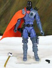 GI JOE 25th anniversary black head Destro Cobra Iron Grenadier Leader v19b 2008