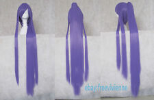 VOCALOID Gakupo Purple Long Two Style Cosplay Party Hair full wig+ wig cap