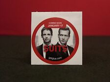 """Suits """"Catch Up"""" Collectible New Get Glue Sticker NLA"""