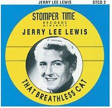 Jerry Lee Lewis That Breathless Cat  (CD, Nov-2004, Stompertime)