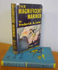 MAGNIFICENT MARINER, John Paul Jones by Frederick A Lane, Signed, 1953 in DJ