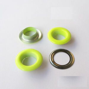 Colored Eyelets With Washers 3-10mm Rivet Grommet Card Scrapbooking Hole Leather