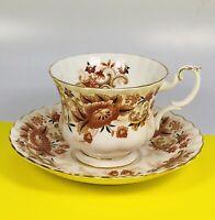 Vintage Royal Albert Keepsake Bone China Teacup & Saucer EUC Estate England Mint