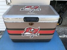 New listing Vintage Tampa Bay Buccaneers Nfl Football Cooler Made By Coleman