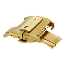 21MM DEPLOYMENT BUCKLE CLASP FOR CARTIER SANTOS 100XL CHRONO BAND STRAP GOLD