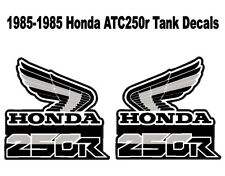 Tank decals for a 85-86 Honda ATC 250r 3-wheeler    ATC250r ATC 250r