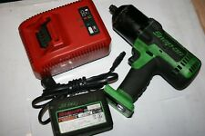 "SNAP-ON TOOLS 18V 1/2"" Drive Cordless MonsterLithium Impact Wrench GREEN CT8850G"