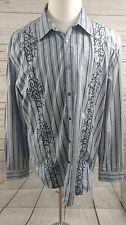 EUC Marc Ecko Men's Longs Sleeve Button Front Shirt XL (J26)