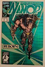 Namor The Sub-Mariner #37 Marvel Comic 1993 Holographix card-stock cover