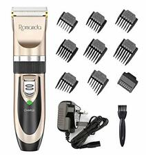 Hair Clippers Men,Romanda Cordless Hair Clippers Low Noise Mens Hair Clippers