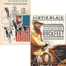 HORSESHOES COWSOCKS DUCKFEET Black CATTLEMEN Sandoz lot #59