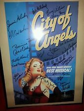 City of angels broadway musical signed poster barry williams &; more