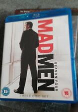 Mad Men Series 4  Season Four Blu Ray Great Discs