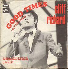 "CLIFF RICHARD ""GOOD TIMES"" 60'S SP COLUMBIA 2C006-04049"
