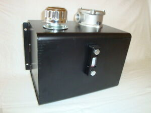 15 LITRE CHASSIS MOUNT TRUCK HYDRAULIC TANK C/W RETURN LINE FILTER & LEVEL GAUGE