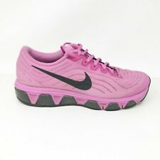 Nike Womens Tailwind 6 621226-506 Purple Black Running Shoes Lace Up Size 8