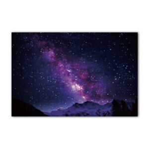 Blue Starry Galaxy Tapestry Space Tapestry Wall Hanging Psychedelic Nebula Stars