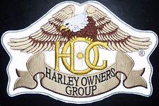 Visión Nocturna Pequeño Harley Davidson Parche Hog-Harley propietario Group-Bikers