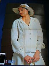 1974 Olivia Hussey / Steve McQueen Japan VINTAGE POSTER VERY RARE