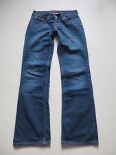Hosengröße W28 Damen-Jeans mit geradem Bein in Langgröße