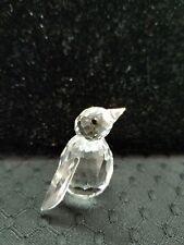 Swarovski Crystal Miniature Penguin Figurine Retired 7661 033 000