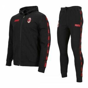 PUMA Anzug Training Fußball AC Milan Sweet Abzugshaube 20/21 Produkt Original