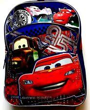 """Cars Disney Pixar Kids School Backpack  15"""""""