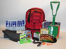COLD WEATHER AND SNOW EMERGENCY SURVIVAL KIT with FOOD & WATER  BUG OUT