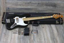 VINTAGE! 1975 Fender Jazz Bass in a Sleek Black + OHSC