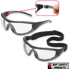 Gateway Safety Glasses Goggles Clear Foam Padded Work Lab Outdoor Eye Protection