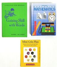 American Girl Doll School Supplies Math Book Reading Mathematics Gaining Skill