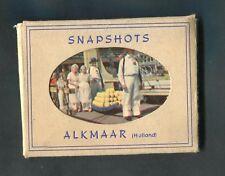 "C1960s 10 ""Snapshots"" of a Cheese Festival, Alkmaar Holland in Envelope"