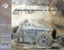 "CATALOGUE VENTE AUCTION CATALOG "" AUTOMOBILES ANCIENNES "" PUBLICITE MONT BLANC"