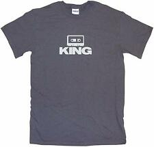 Cassette Tape Logo King Mens Tee Shirt Pick Size Color Small-6XL