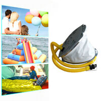Portable Foot Air Pump Compact for Fishing Inflatable Boat Rubber Dinghy Kayak