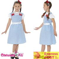 Country Western Girl Dorothy The Wizard Of Oz Costume Book Week Fancy Dress Kids