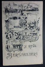 BERSAGLIERI - 3° REGGIMENTO - PRIMO '900