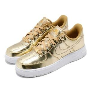 Nike Wmns Air Force 1 SP Metallic Gold Womens AF1 Shoes Sneakers CQ6566-700