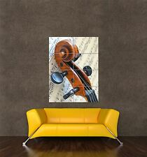 POSTER PRINT GIANT MUSIC THEME PHOTO SHEET VIOLIN STRING ORCHESTRA PAMP310