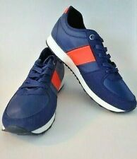 United Colors of Benetton Men's Sneakers US Sz 12 Navy/Orange - New without Box