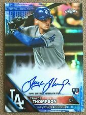 Trayce Thompson 2016 Topps Chrome Rookie Autograph Blue Refractor #RATTH /150 RC