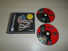 Resident Evil 2 II PS1 Playstation 1 Game Discs & Case