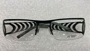 NEW JF Rey JF2209 Optical Eyeglasses TITANIUM FRAME 53 - 19 BLACK UNIQUE