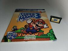 NEW Super Mario Bros 3 GameBoy Advance 4 Game & Player's Strategy Guide L14
